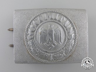 A German Army EM/NCO Belt Buckle