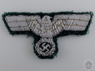 A German Army Officer Visor Eagle Insignia