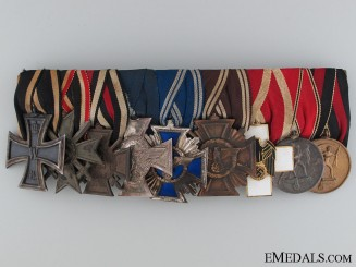 A German Civic & Political Medal Bar