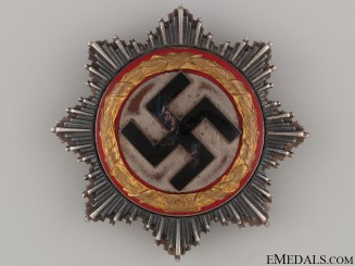 A German Cross in Gold by Juncker