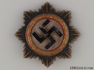 A German Cross in Gold by C.E. Juncker