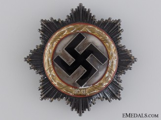 A German Cross in Gold by Zimmermann