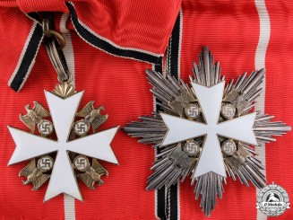 A German Eagle Order; First Class Set by Godet