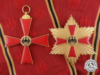 A German Federal Republic Order of Merit; 1st Class Grand Cross