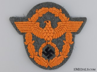 A German Gendarmerie NCO's Sleeve Eagle