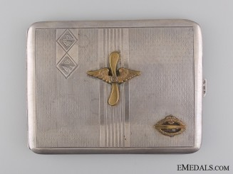 A German Imperial Army Zeppelin (Luftschiff) Veteran's Case