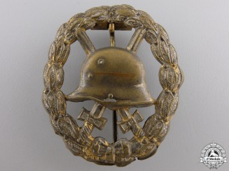 A German Imperial Wound Badge; Gold Grade