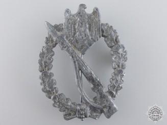 A German Infantry Badge by Ernst L Müller