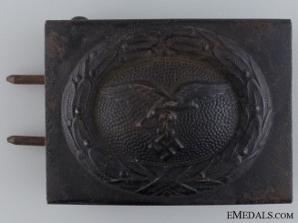 A German Luftwaffe Belt Buckle