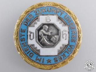 A German Midwives Organization Golden Merit Badge