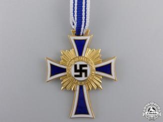 A German Mother's Cross; Gold Grade