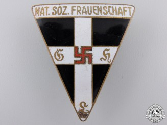A German N.S. Frauenschaft Badge by Steinhauer & Lück