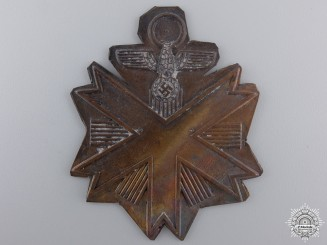 A German Olympic Games Decoration; First Strike