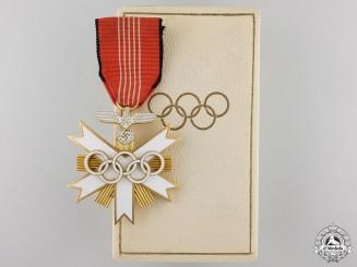 A German Olympic Merit Cross; Second Class