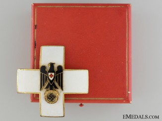 A German Red Cross Decoration Type III (1937-39) Merit Cross