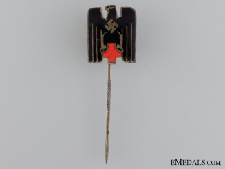 A German Red Cross Membership Stickpin; Type IV