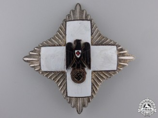 A German Red Cross; Grand Cross Star (1937-39) by Godet