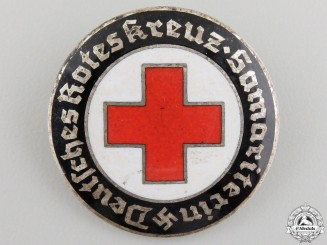 A German Red Cross Volunteer's Badge