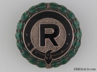 A German Rider's Award Badge