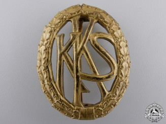 A German Shooting Association (KKS) Badge
