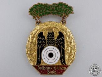 A German Shooting Federation (DSB) District Championship Badge 1931-1932