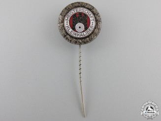 A German Shooting Federation (DSB) Championship, Silver Grade Stickpin