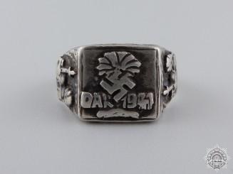 A German Silver Afrikakorps Ring