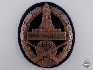 A German State Soldier's Association Marksmanship Award