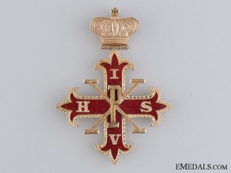 United Kingdom. A Red Cross of Constantine in Gold, III Degree, c.1937