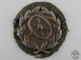 A Gold Grade Driver's Proficiency Badge
