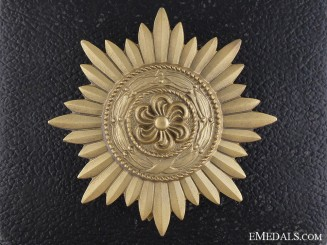 A Gold Grade Ostvolk Decoration for Merit on the Eastern Front