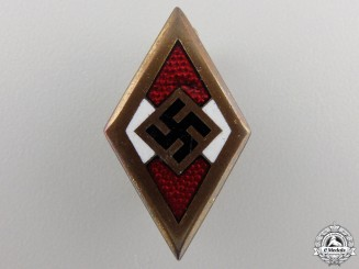 A Golden HJ Honor Badge by Paulmann & Crone
