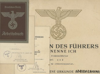 A Good Anti-Partisan Related Group of Award Documents