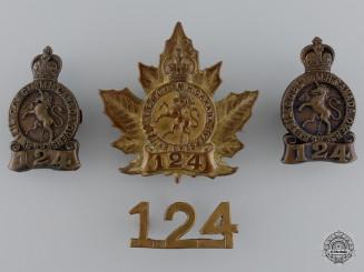 A Governor General's Body Guard Cap Badge Set