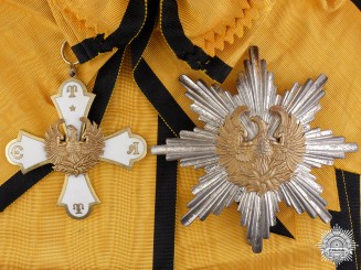 A Greek Order of the Phoenix; Grand Cross Set
