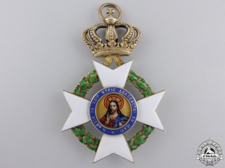 A Greek Order of the Redeemer; Commander's Cross