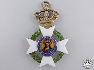 A Greek Order of the Redeemer; Commander's Cross