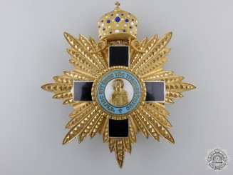 Greece, Orthodox Church. An Order of St. Eugene of Trabzon, Breast Star, by Alberti &Co., c.1935