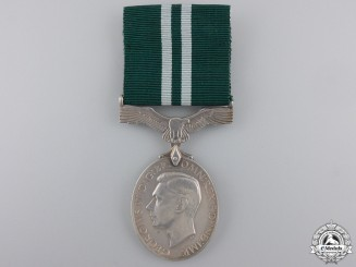 A GVI Air Efficiency Medal to the RAFVR