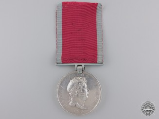 Hanover.  A Waterloo Medal to Lieutenant Joh. Hr. Conr. Wynecken, Wounded