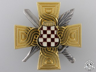 A Herceg-Bosna War Merit Cross 1992-95