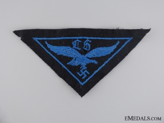 A HJ Flak Helper Cloth Insignia