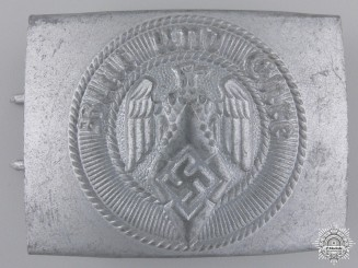 A HJ Members Belt Buckle by Paul Cramer & Co