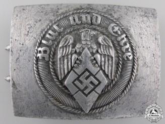 A HJ Members Belt Buckle by Richard Sieper & Söhne