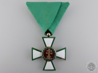 A Hungarian Order of Merit; 5th Class