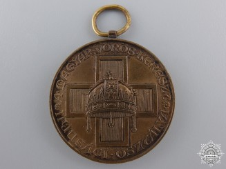Hungary, Kingdom. A Red Cross Medal for Youth, Bronze Grade