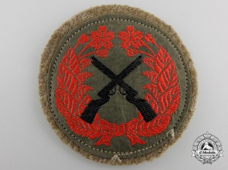 A Japanese Army Marksmanship Badge