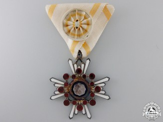 A Japanese Order of the Sacred Treasure; 4th Class