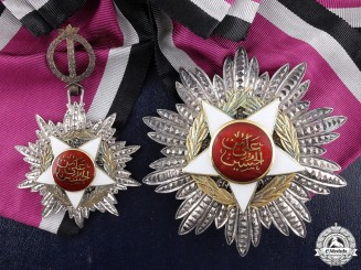A Jordanian Order of Al-Istiklal; Grand Cross Set by G & Co Ltd