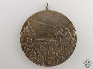 Germany, Imperial. A Napoleonic War Campaign 100th Anniversary Medal 1813-1913